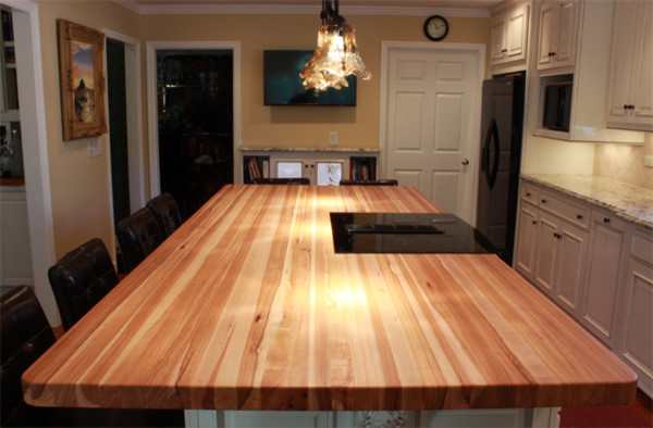 How To Make Wooden Kitchen Countertops Safe For Food Preparation