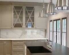 Custom Home-Atlanta contemporary kitchen