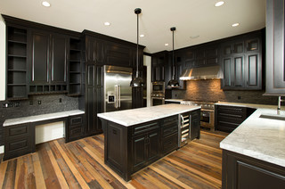 Custom home traditional kitchen dc metro by for Reclaimed wood dc