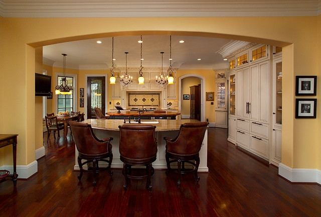Custom Home Build - Fayette County traditional-kitchen