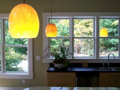 Custom Home Design contemporary-kitchen