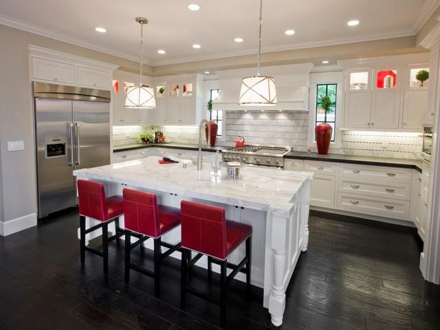 Custom Home contemporary-kitchen