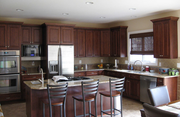 Custom Home In Annapolis Md Traditional Kitchen Dc Metro By Paquin Design Build