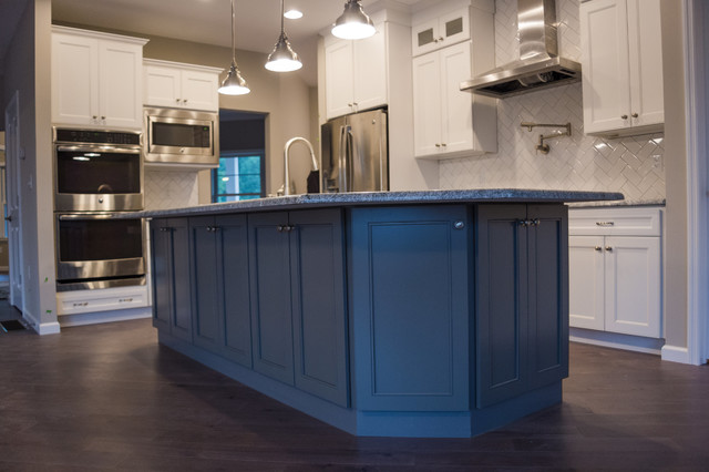 in style kitchen cabinets custom home in danville pa contemporary kitchen 17821