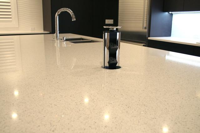 Custom Home in Pinecrest modern-kitchen