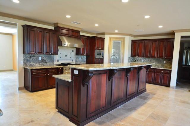 Custom Home In Riverside Ca Modern, Kitchen Cabinets In Riverside California