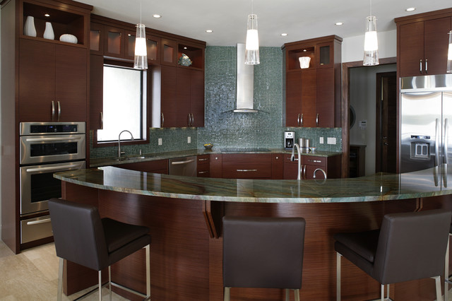 Custom Modern Kitchens Custom Home In Stpetersburg Fl