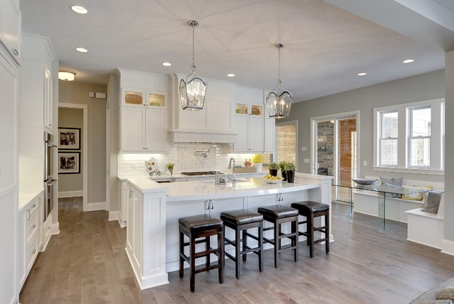 White Kitchen Maple Floors maple floors wall color | houzz