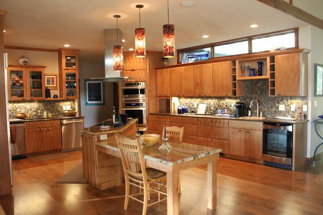 Custom Home rustic-kitchen