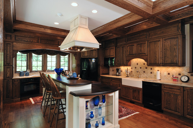 Custom Home Renovation traditional-kitchen