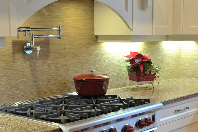 Custom Home Tile Installations contemporary-kitchen