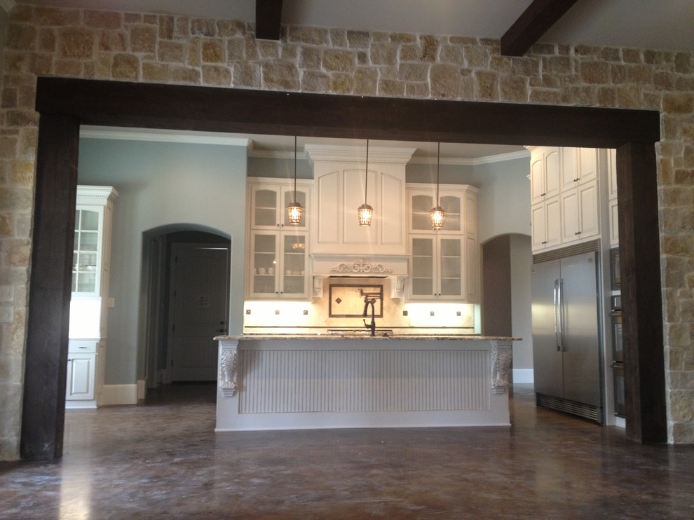 Custom Home with Expansive Kitchen-Tyler, TX - Modern ...