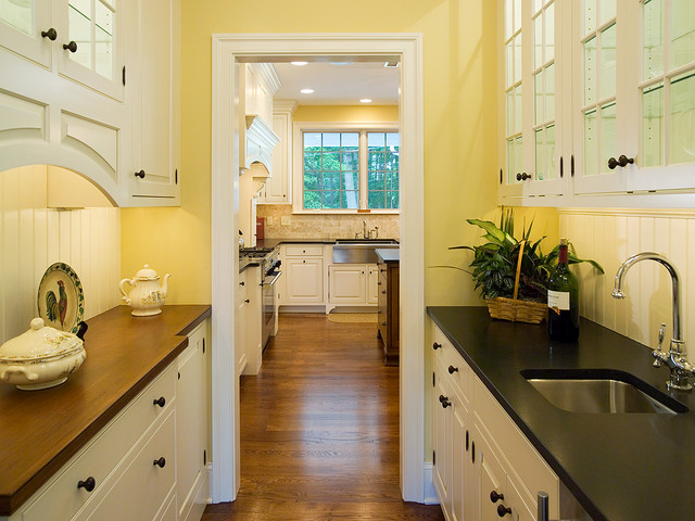 Custom Homes (Interior) traditional-kitchen