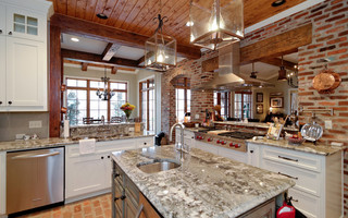 Custom Homes Shreveport La Traditional Kitchen Other Metro By Vintage Construction Group