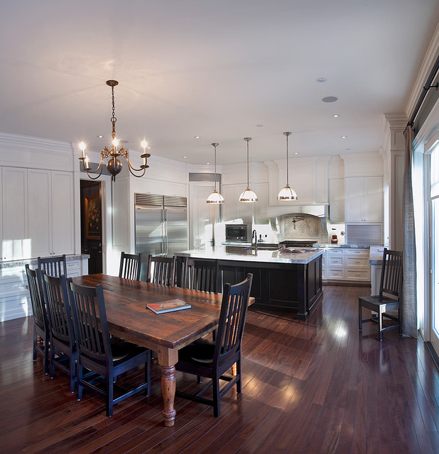 Custom Homes, Wedgewood contemporary-kitchen