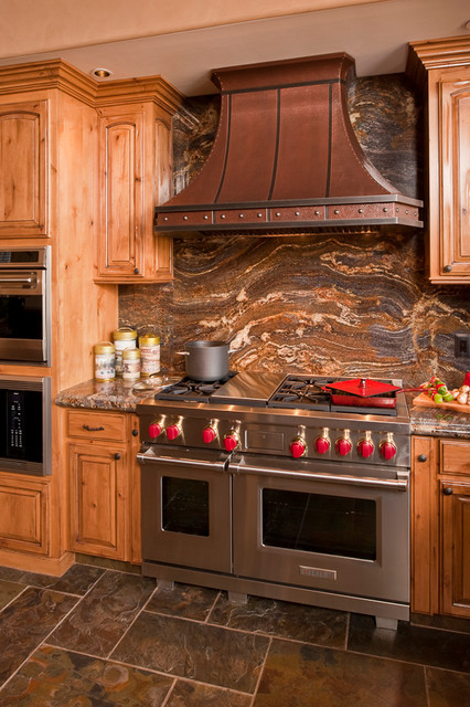 Super Custom Hood & Viking Range - Rustic - Kitchen - Other - by Custom  CV08
