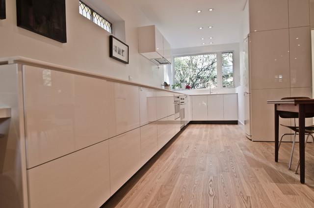 Custom Ikea kitchen white modern-kitchen