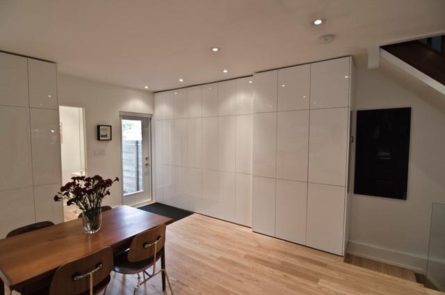 Custom Ikea kitchen white - Contemporary - Kitchen - Toronto - by TS KITCHEN PROJECTS