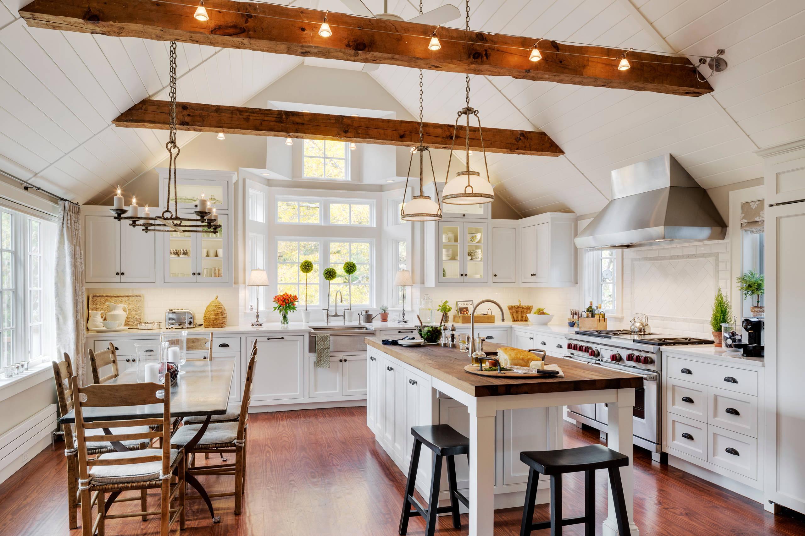 Exposed Beam Kitchen Houzz