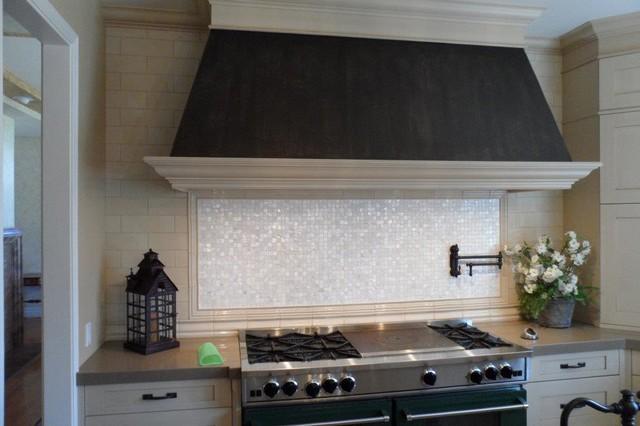 custom kitchen backsplash del mar ca traditional kitchen