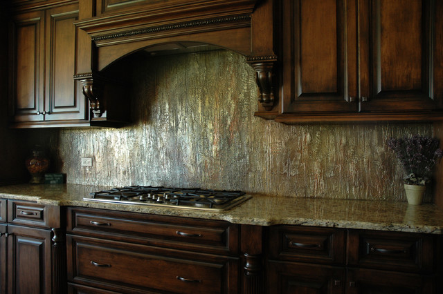 Custom Kitchen Backsplash traditional-kitchen