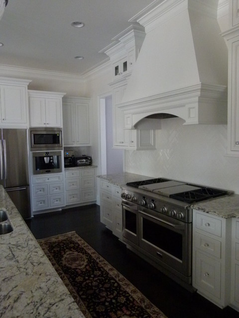 Custom Kitchen by Custom House Designs by Lang Smith and Collard Custom Cabinets traditional-kitchen
