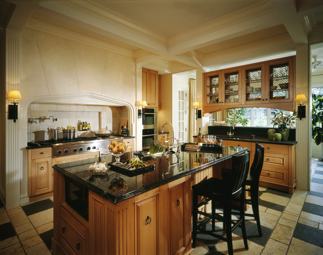 Benvenuti and Stein traditional kitchen