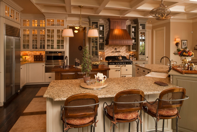 Custom Kitchen Cabinets By Omega Traditional Kitchen Nashville By Brentwood Granite