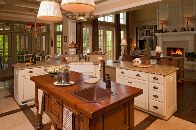 Custom Kitchen Cabinets by Omega - Traditional - Kitchen ...
