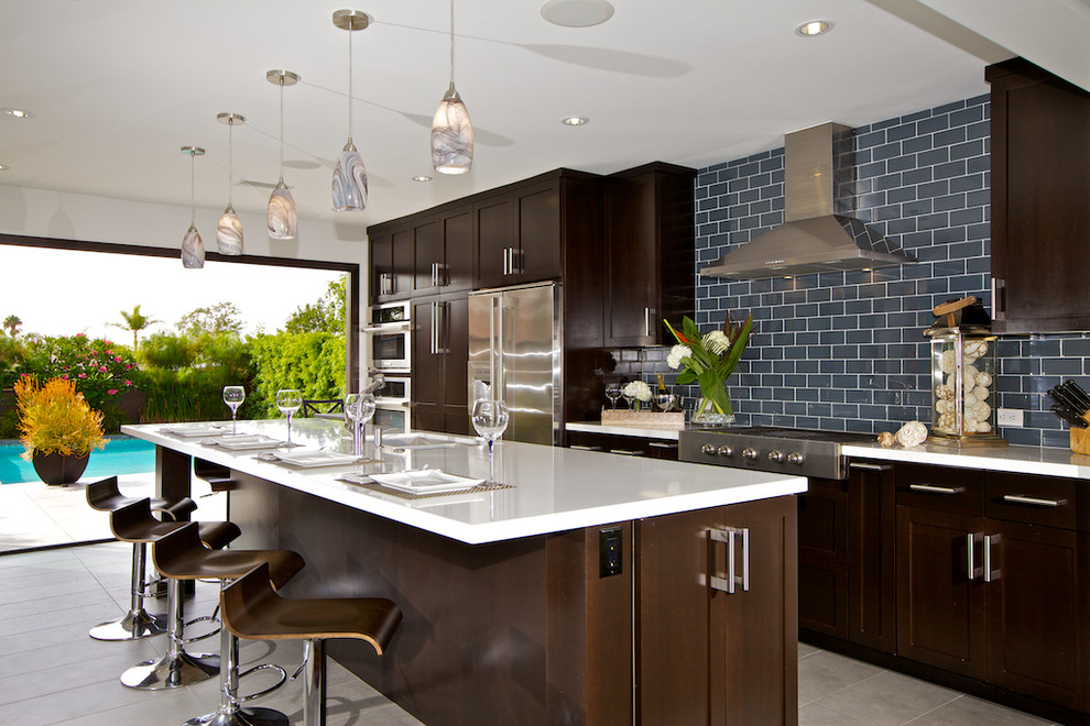 Custom Kitchen Cabinets - Modern - Kitchen - San Diego ...