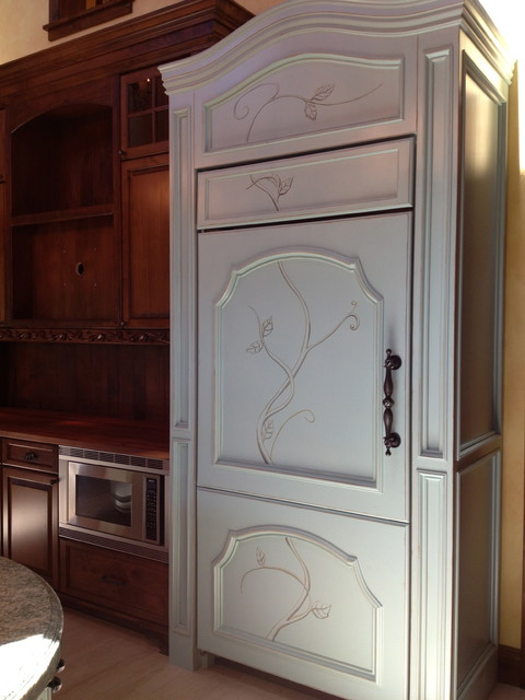 Custom Kitchen Cabinets Eclectic Kitchen San Diego By