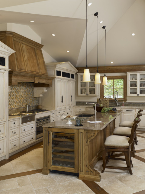 Custom Kitchen Design traditional-kitchen