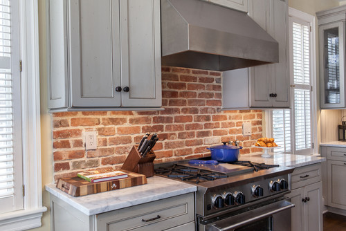 I Am Considering Using Brick As A Backsplash. Any Pros Or Cons?