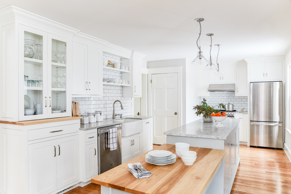 Custom Kitchen in 1936 Portland Home - Transitional ...