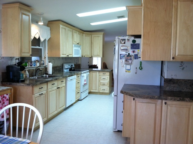 Custom Kitchen In A Mobile Home Contemporary Kitchen