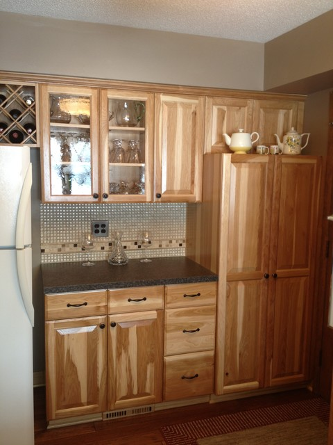 Custom kitchen in Hickory traditional-kitchen
