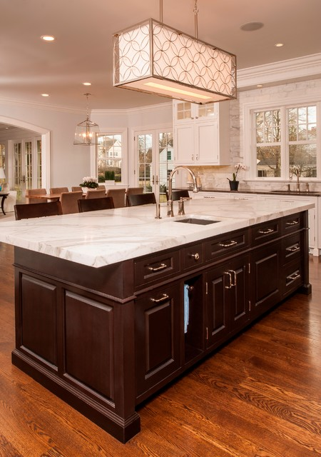 Custom Kitchen in Old Greenwich CT traditional-kitchen