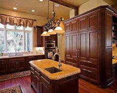 custom kitchen island design with sink, Bay Area traditional-kitchen