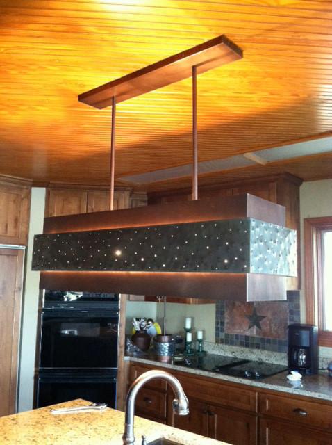Custom Kitchen Pendant Lighting Eclectic Kitchen