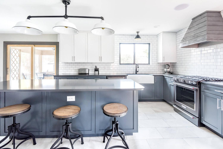 75 Beautiful Marble Floor Kitchen Pictures Ideas December 2020 Houzz