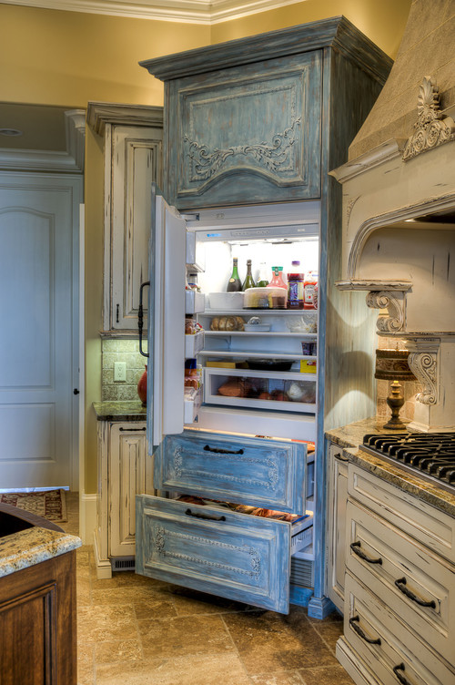Fabulous HOW DID YOU ATTACH THE WOODEN PANELS TO THE FRIDGE DOORS XL35
