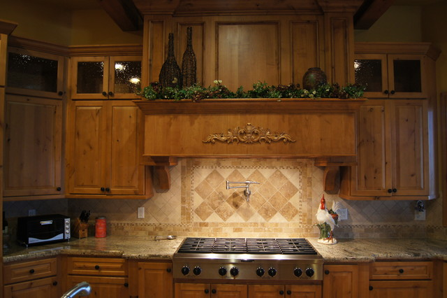 Custom Kitchen Stove Hood Contemporary Kitchen Denver By Quality Cust