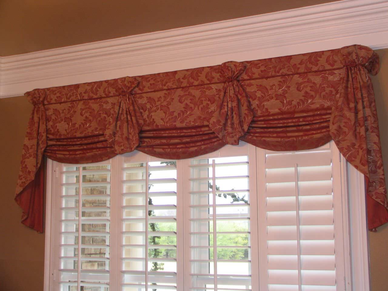 Custom Kitchen Window Treatments