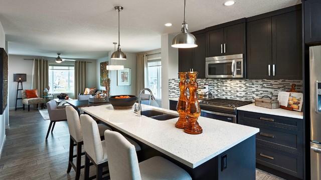 Custom Kitchens Kitchen Calgary By Elegant Woodwork