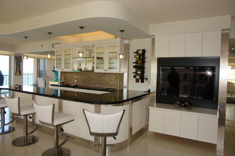 Custom Kitchens - Contemporary - Kitchen - Miami - by ...