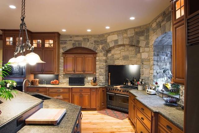 Custom Luxury Kitchens Rustic Kitchen