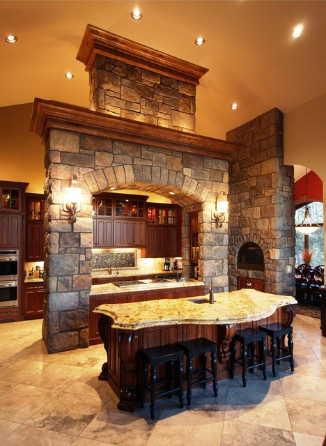 Custom Luxury Kitchens by Timber Ridge Properties - Traditional - Kitchen - Denver - by Timber ...