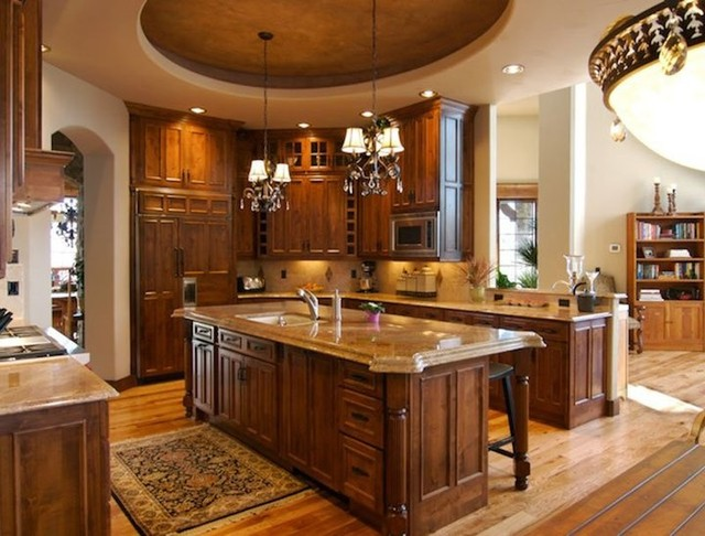 Custom Luxury Kitchens By Timber Ridge Properties