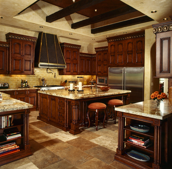 Before And After Of This Beautiful Open Concept Kitchen: Custom Luxury Kitchens