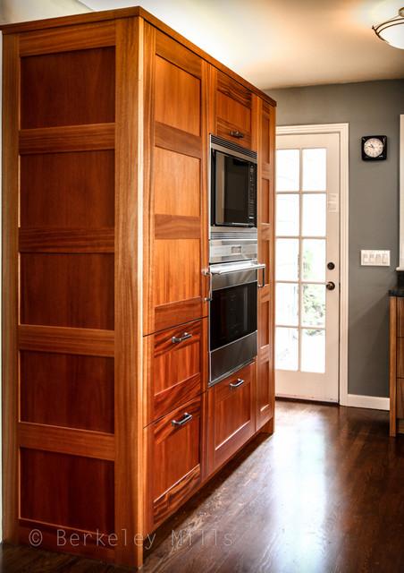 Custom mahogany kitchen traditional kitchen other for Berkeley mills doors
